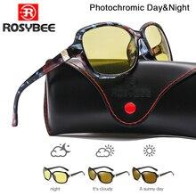 2020 New luxury lady Photochromic Sunglasses Day Night vision Polarized women