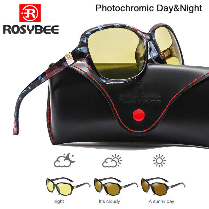 2020 New Luxury Lady Photochromic Sunglasses Day Night Vision Polarized Women Glasses Female Shades Original Oculos With Box