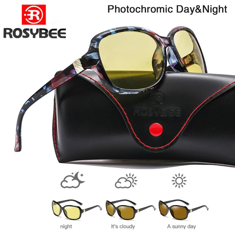 2020 New Luxury Lady Photochromic Sunglasses Day Night Vision Polarized Women Glasses Female Shades Original Oculos With Box