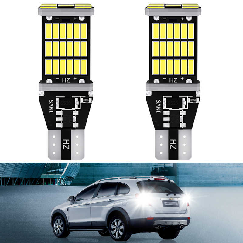 2x T15 W16W 921912 Led Canbus Led Lamp Auto Backup Reverse Licht Voor Toyota C-HR Corolla Rav4 Yaris Avensis Camry chr Auris Hilux