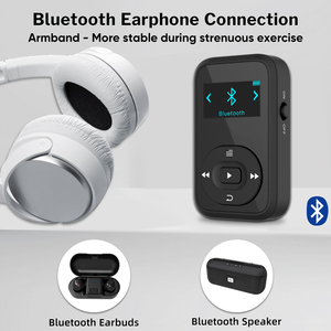 Image 3 - Deelife Sport Kit Met Bluetooth Mp3 Speler En Tws Echte Draadloze Bluetooth Hoofdtelefoon Voor Running Jogging Met Fm Record