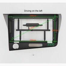 9 אינץ רכב אודיו מסגרת GPS ניווט Fascia לוח רכב dvd פלסטיק מסגרת Fascia הוא מתאים עבור 2010 + הונדה CRZ