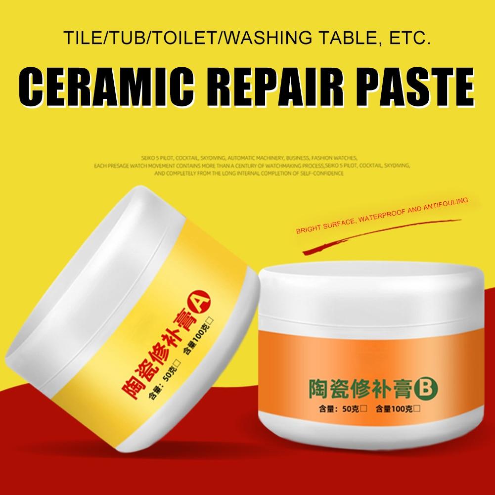 Fiberglass Repair Kit   Tile Repair Agent Paste Tub Repair Kit White Tile Shower Repair Kit For Fiberglass Porcelain Ceramic Fix Crack LKS99