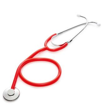 Pojedynczy klosz medyczny stetoskop lekarz profesjonalny phonendoskop kardiologia sprzęt medyczny urządzenie medyczne pielęgniarka weterynarza tanie i dobre opinie XceeFit Portable stethoscope Single Head Stethoscope Professional Stethoscope Medical Equipment Single-Headed Stethoscope