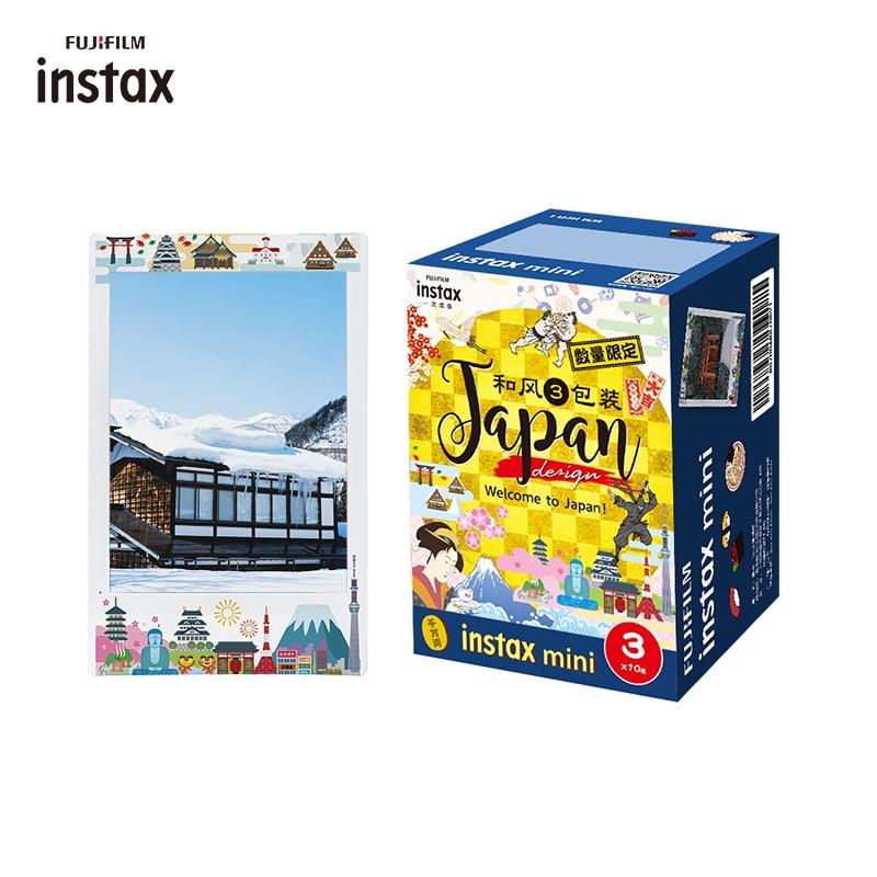 Пленка Fujifilm Instax Mini, японский дизайн, 30 листов/упаковка, фотобумага для камеры Fuji instant 8 7s 11 25 50 90 70, ссылка в упаковке