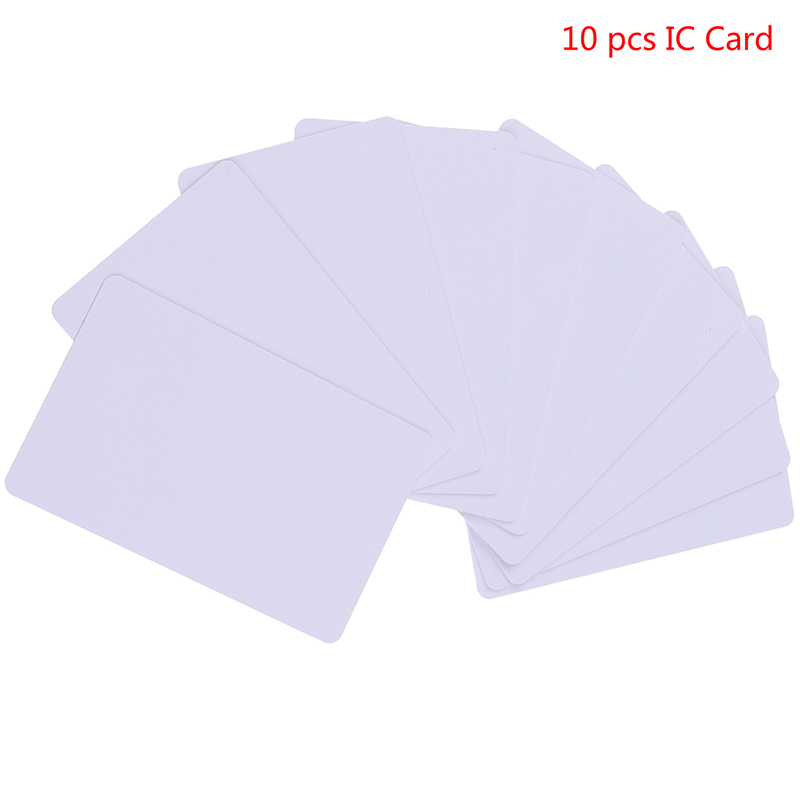 10pcs RFID Card 13.56Mhz IC Cards High Frequency For Access Control System