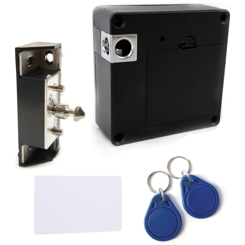 13 56MHz IC Card Cabinet Lock Electric Cabinet Lock Invisible Cabinet Drawer Lock Locker
