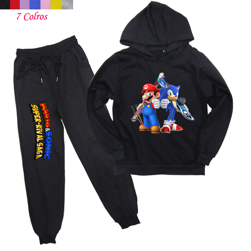 Sonic The Hedgehog Toddler Hoodie Cotton Hooded Top Fashion Sweatshirt For Boys Girls Black Formtech Inc Com