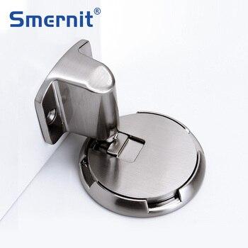 Mechanical Door Stops Door Stopper Quiet Door Holder Toilet Glass Door Catch Hidden Doorstop Furniture Hardware