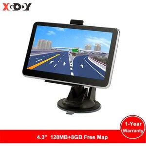 Xgody Hd Car Gps Navigation Fm