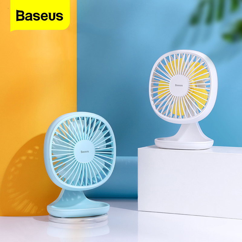 Baseus Portable Usb Fan 3 Sd Mini