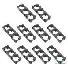 10x 18650 Battery Cell Holder Spacer Radiating Shell Storage Bracket Kit ABS