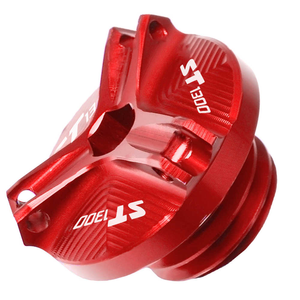 ホンダ ST1300 ST 1300 2003 2004 2005 2006 207 2008 2009 M20 * 2.5 CNC オートバイエンジンモトオイル燃料フィラータンクキャップカバー