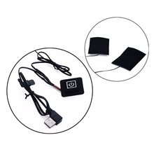 Heating Pad USB Electric 5-in-1 Adjusted Temperature Thermal Winter Clothes Heated Warmer