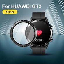 Pokrowiec z miękkiego włókna szklanego do zegarka Huawei GT 2 Honor Magic 2 46mm GT2e Smartwatch ochraniacz ekranu GT2 Pro akcesoria tanie tanio MOSHOU CN (pochodzenie) Folie ochronne na ekran
