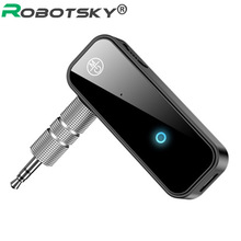 2 in 1 Wireless Bluetooth 5.0 Receiver Transmitter Adapter 3.5mm Jack For Car Music Audio Aux A2dp Headphone Reciever Handsfree