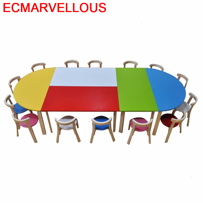 Tavolo Per Child Tavolino Bambini Pour And Chair Play Kindergarten Mesa Infantil Study For Kids Kinder Enfant Children Table