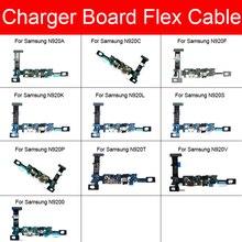 USB شحن جاك مجلس لسامسونج غالاكسي ملاحظة 5 N920C N920F N920G N920i N920K N920L N920P N920S N920T N920V N9200 N920A أجزاء
