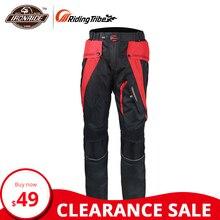 Riding Tribe водонепроницаемые мотоциклетные штаны Мужские штаны для мотокросса ветрозащитные Pantalon мото с защитой для тела для зимы hp-09