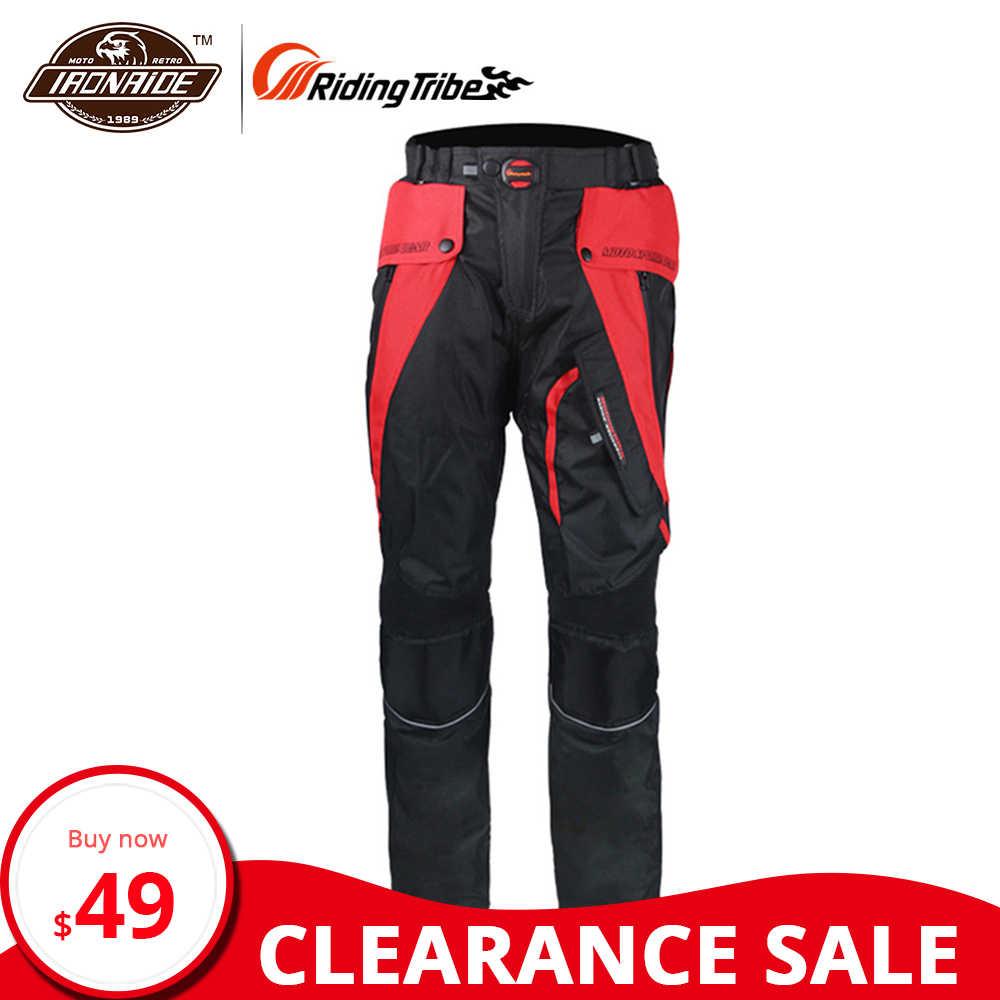 Equitazione Tribe Impermeabile Moto Pantaloni Uomini Motocross Pantaloni Antivento Pantalon Moto con Protezione Del Corpo per L'inverno Hp-09
