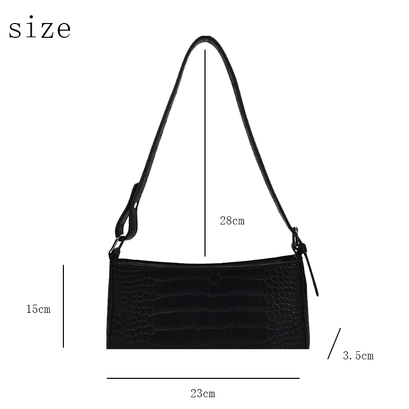 Messenger Handbags Retro Alligator Pattern Women shoulder bags Flap New PU Leather Casual Solid crossbody bags for women Bolsas