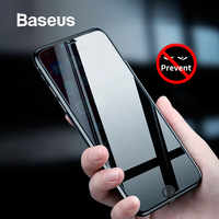 Baseus 0.3mm Anti Privacy Screen Tempered Glass for iPhone 8 7 Plus 3D Safety Protective Tempered Glass for iPhone 7 8 Glass