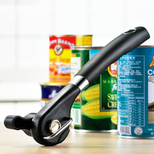 2pcs Stainless Steel Safety Can Opener Multi-function Side Opening Manual Tin Canned Knife Bottle Opener Bottle Kitchen Gadget manual food tin can seamer