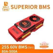 Daly LTO 18650 BMS 25S 60V 80A 100A 150A 200A 250A 18650 lto litowa płyta korektora z funkcją równoważenia balansu moduł LTO