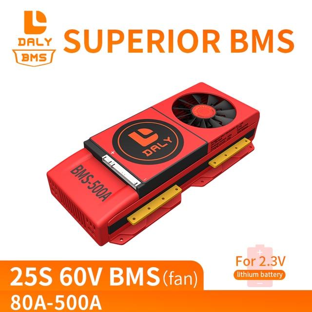 デイリーlto 18650 bms 25s 60v 80A 100A 150A 200A 250A 18650 ltoリチウムイコライザーボードとバランサバランス機能ltoモジュール