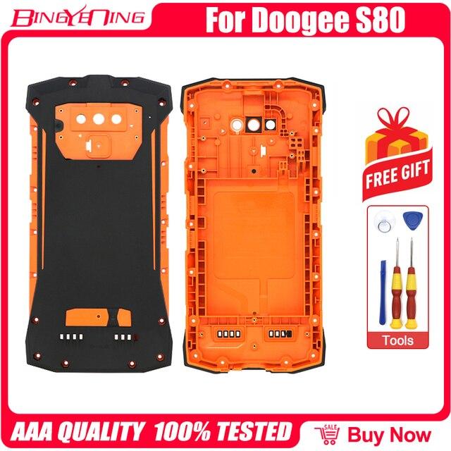 100% Mới Ban Đầu Cho Điện Thoại 5.99 Inch DOOGEE S80 Pin Lưng Nhà Ở + Ốp Lưng Vít Cắm + ốc Vít
