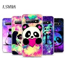 Cartoon Lovely Panda For Samsung Galaxy Note 20 Ultra 10 9 8