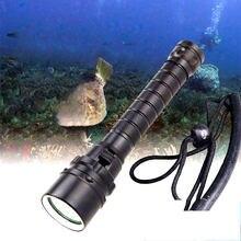 TMWT Professionelle Dive Lichter Lampe 80M Unterwasser 3000LM CREE XM-L2 XML T6 LED Weiß Gelb Scuba Tauchen Taschenlampe