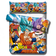 Dragon Ball Z Bedding Set Duvet Cover Pillowcases Cartoon Anime Dragon Ball Comforter Bedding Sets Bedclothes Bed Linen(NO sheet cheap musolei None Duvet Cover Sets 100 Polyester Fibre 1 0m (3 3 feet) 1 2m (4 feet) 1 35m (4 5 feet) 1 5m (5 feet) 1 8m (6 feet)