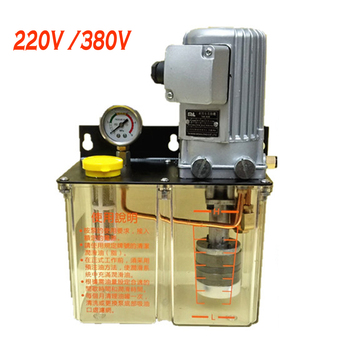 220V 380V cnc lubrication pump electric Lubricating oil 3L 3 Liters electromagnetic lubricator 100W