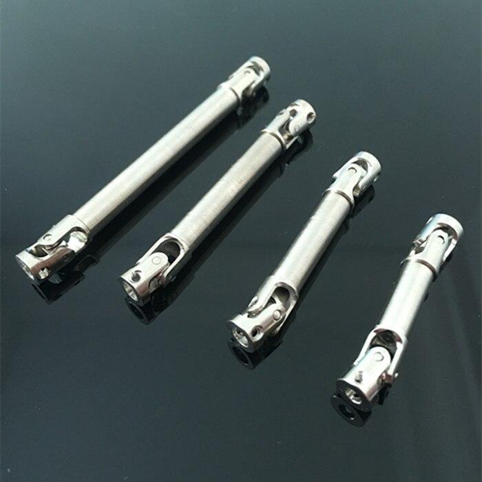 1PC 40 110 milímetros Full 6mm de Diâmetro do Eixo de Acionamento Do Eixo de Transmissão Flexível de Aço w/7mm diâmetro Cardan w/Spline Para 1:24 Caminhão Pesado Peças e Acessórios    -