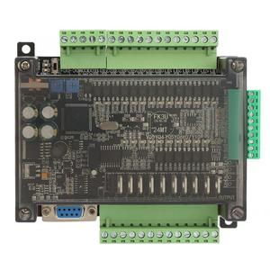 Image 3 - PLC programmable logic controller FX3U 24MT PLC industrial control board 6 Analog Input 32bit MCU 14 Input 10 Transistor Output
