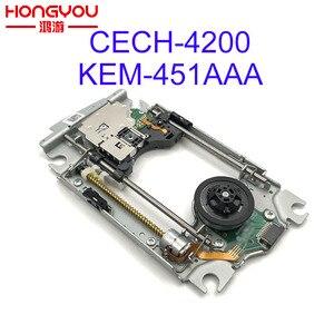 Image 1 - Originale di ricambio KEM 451AAA kem 451aaa per PS3 Super Sottile CECH 4200 KES 451 lettore Lente Laser con meccanismo di ponte