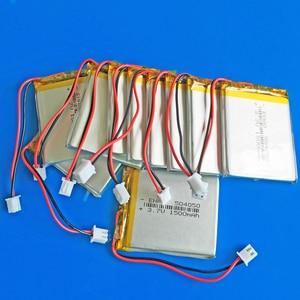 Image 5 - JST XHR 2.54mm 2pin 504050 3.7V 1500mAh נטענת סוללה lipo ליתיום פולימר עבור MP3 GPS DVD bluetooth מצלמה מקלדת MP4