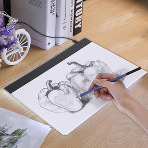 Image 2 - Drawing Board Tablet Writing Painting Light Box Tracing Board Copy Pads Digital Drawing Tablet Artcraft A4 Copy Table LED Board