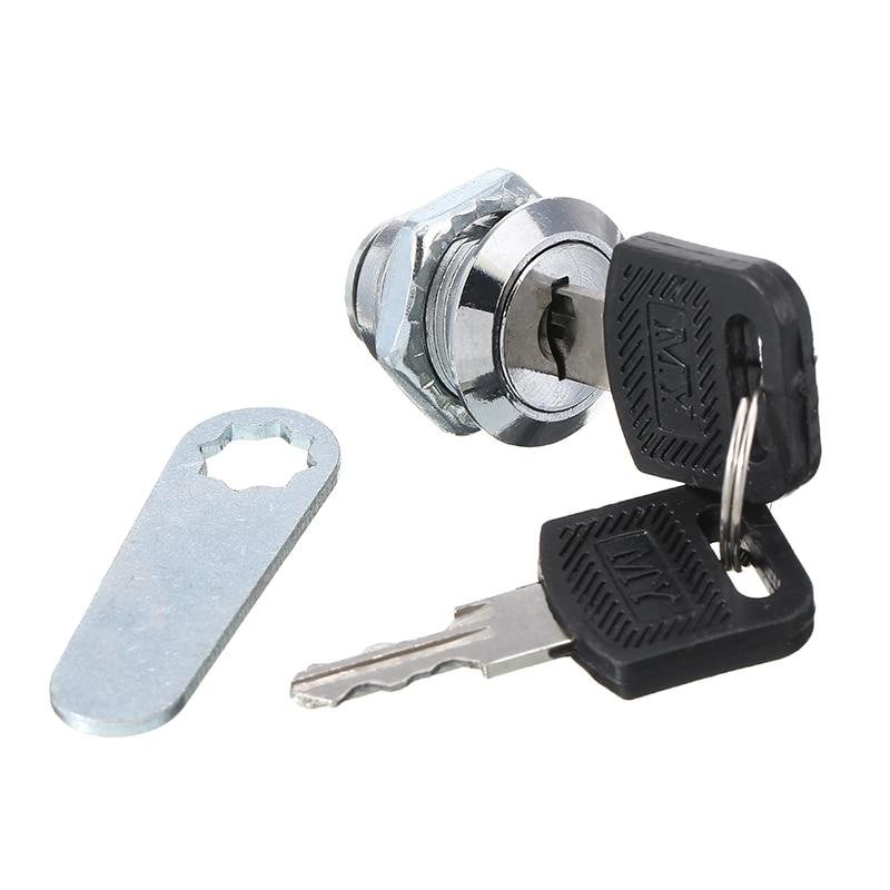 2-Key Cam Locks Filing Storage Post Mailbox Drawer Cupboard Locker 16//20//25//30mm