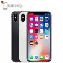 Apple iPhone X Entsperrt Smartphone 5,8 zoll Apple A11 4G LTE 64 GB/256 GB ROM 3GB RAM 12MP Dual Hinten Kamera Gesicht ID Handy