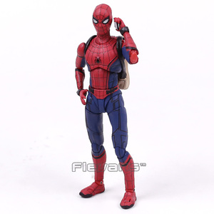 Image 5 - Shf Spider Man Homecoming De Spiderman Pvc Action Figure Collectible Model Toy