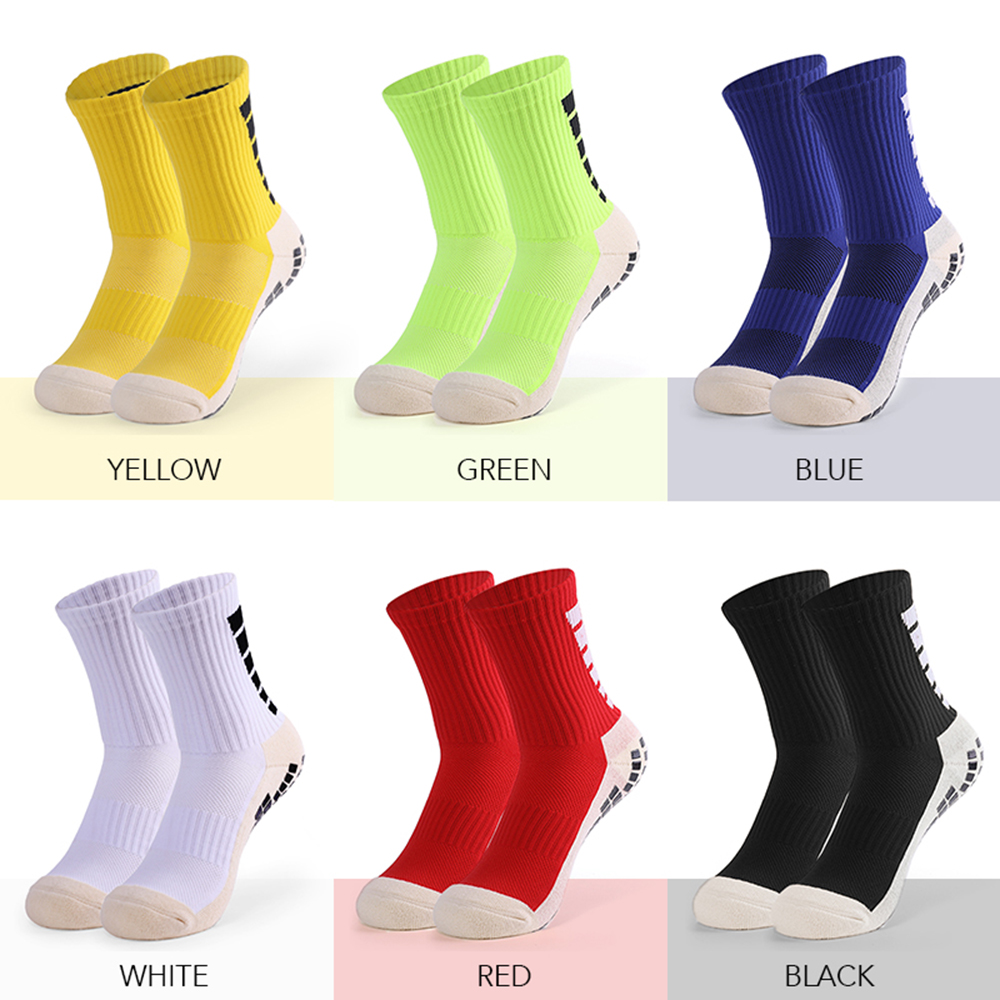 Mens Women Cycling Run Sports Socks Ankle Sock One Size Black White Red Yellow