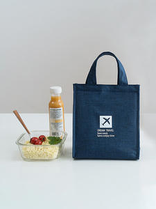 Lunch-Bag Tote-Accessories-Supply Bento-Pouch Cold-Insulation-Organizer Food Office Picnic