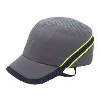 New Work Safety Bump Cap Hard Inner Shell Protective Helmet Baseball Hat Style For Work Factory Shop Carrying Head Protection|Safety Helmet| |  -