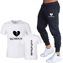 2019 new Harajuku couple printing men and women T-shirt suit casual skateboard T-shirt summer men and women short-sleeved T-shir 2018 new summer casual men t shirt may only the best are born in may men s t shirt grey birthday gift 00512