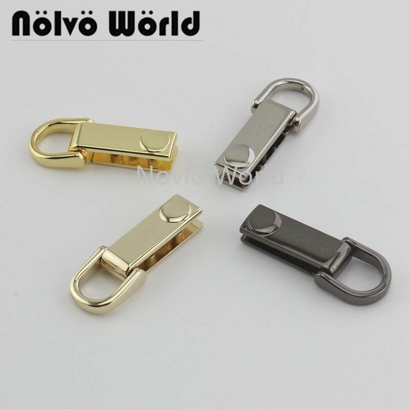 10-30-50pcs 4 Colors Purse Handle Thin Useful Strap Buckles,bags Handbags Handles Connect Hanger