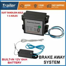 Break Away System LED Battery Meter For Trailer Caravan Towing Electric Breakaway Switch Battery With Security Assurance