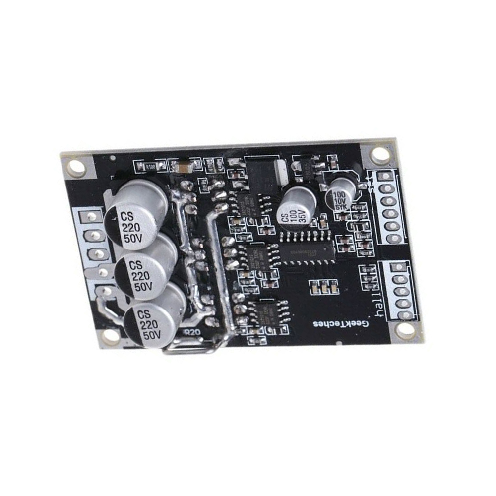 2019 New High Quality <font><b>15A</b></font> 500W DC12V-36V Brushless <font><b>Motor</b></font> Speed Controller BLDC <font><b>Driver</b></font> Board With Hall image