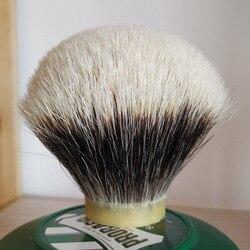 DS 24 мм/26 мм/28 мм/30 мм SHD гель наконечник лучшие две группы барсук волос бритья кисточки узлы с крючками